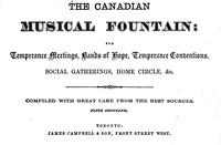 The Canadian Musical Fountain