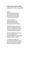Aise and Come Along - lyrics